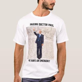 Camiseta Doutor Paul da paginação