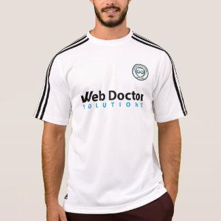 Camiseta Doutor Solução Futebol Edição Parte superior da