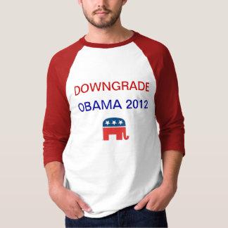 Camiseta Downgrade Obama 2012