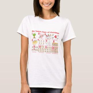 Camiseta Doze dias do Natal