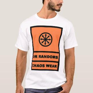 Camiseta Dr. Randoms Caos Vestir-se (preto/pch)