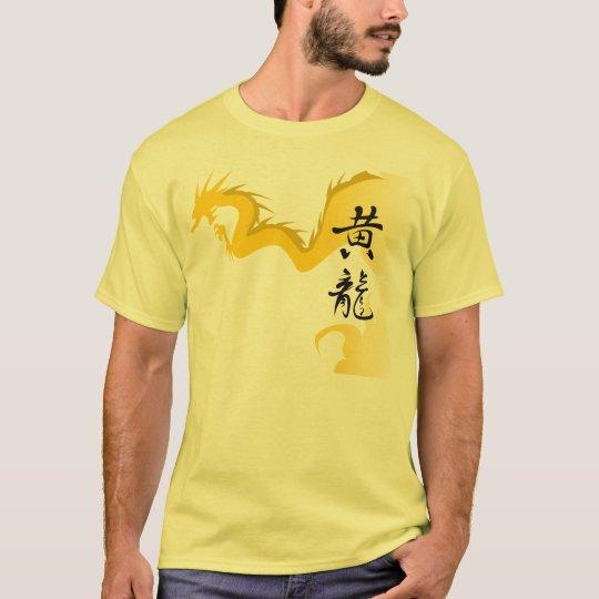 Camiseta Dragão amarelo