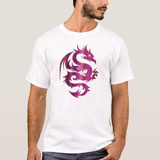 Camiseta Dragão Amethyst na prata