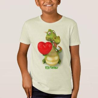 Camiseta Dragão amigável de Eco