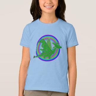 Camiseta Dragão bonito dos desenhos animados