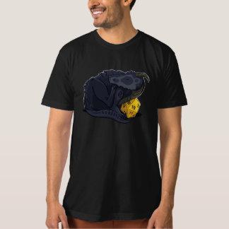 Camiseta Dragão D20 preto