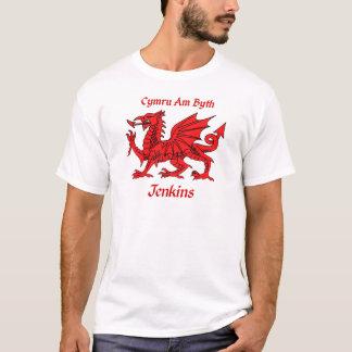 Camiseta Dragão de Jenkins Galês