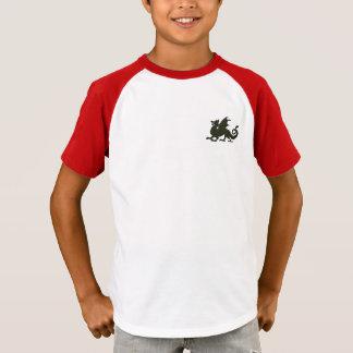 Camiseta Dragão de respiração do fogo