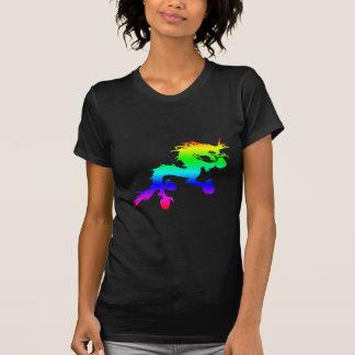 Camiseta dragão do arco-íris