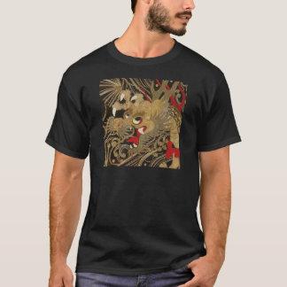 Camiseta Dragão do japonês do vintage
