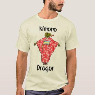Camiseta Dragão engraçado do quimono