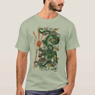 Camiseta Dragão oriental