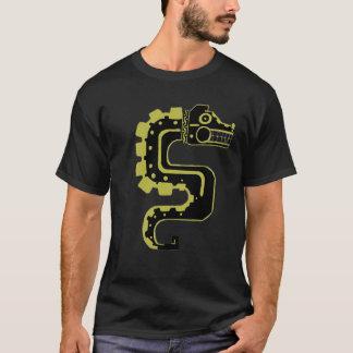 Camiseta Dragão preto da lua