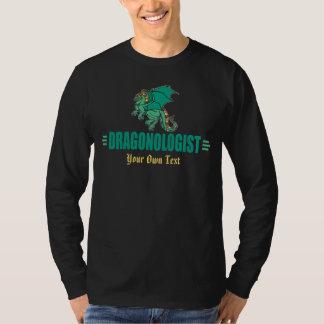 Camiseta Dragão verde da fantasia