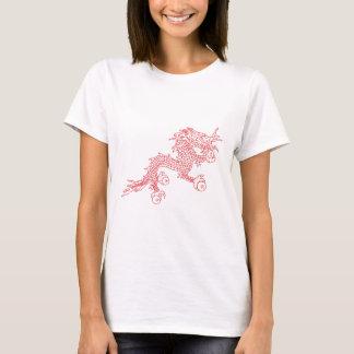 Camiseta Dragão vermelho