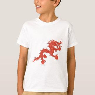 Camiseta Dragão vermelho (Bhutan)
