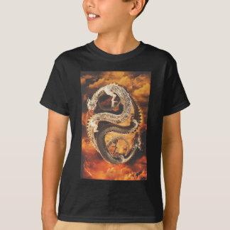 Camiseta Dragões de Yin Yang - caos