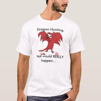 Camiseta Dragonfail, caça do dragão., o que REALMENTE…