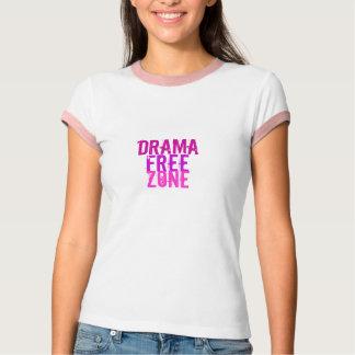 Camiseta Drama, livre, zona