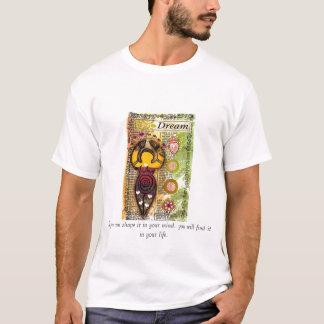 Camiseta dreamgoddess, se você pode lhe dar forma em sua