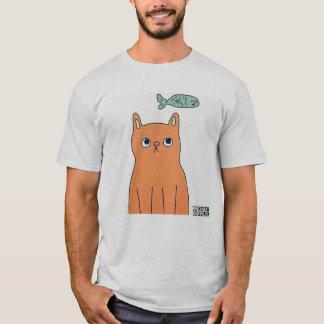 Camiseta DreamySupply algo é o t-shirt cinzento dos homens