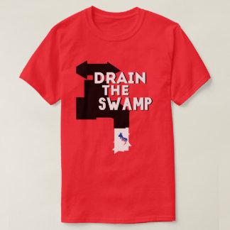 """Camiseta """"Drene o T do trunfo do pântano"""" -"""