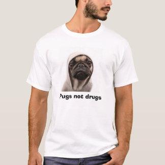 Camiseta Drogas dos Pugs não