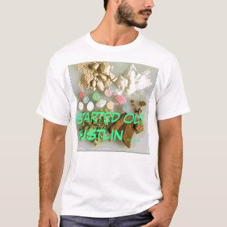 Camiseta drogas, HUSTLIN começados….