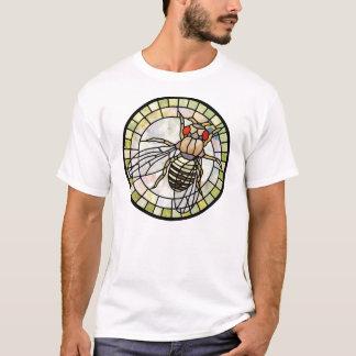 Camiseta Drosófila do vitral (mosca de fruta)