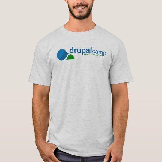 Camiseta DrupalCamp Rio de Janeiro
