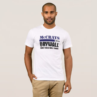 Camiseta Drywall de McCrays