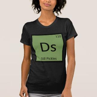Camiseta Ds - Símbolo da mesa periódica da química das