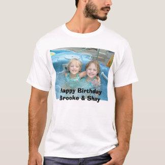 Camiseta DSCF0236, feliz aniversario Brooke & Shay