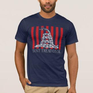 Camiseta DTOM - Listras vermelhas