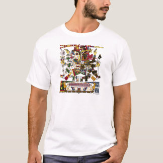 Camiseta Dualidade asteca