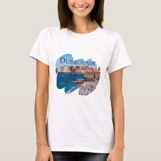 Camiseta Dubrovnik com uma vista