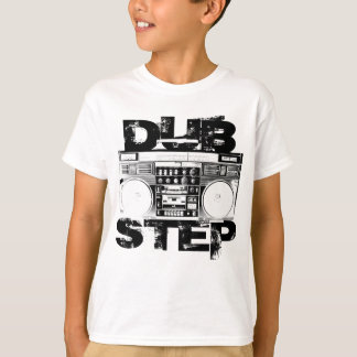 Camiseta Dubstep Boombox preto