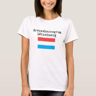 Camiseta Ducado grande de Luzembourg
