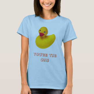 Camiseta Ducky de borracha, você é esse