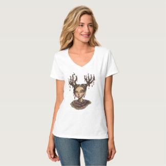 Camiseta Duende invernal da floresta do Natal
