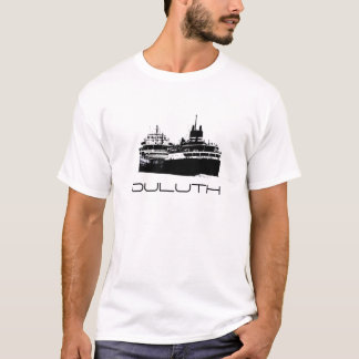 Camiseta Duluth, navio, o Lago Superior