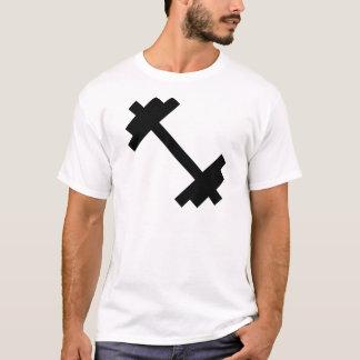 Camiseta Dumbbell do fitness center