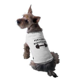 Camiseta Dumbbell pessoal da guarda do corpo