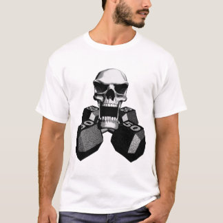 Camiseta Dumbbells do crânio