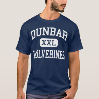 Camiseta Dunbar - Wolverines - segundo grau - Dayton Ohio