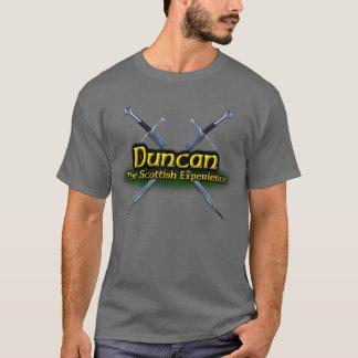 Camiseta Duncan o clã escocês da experiência