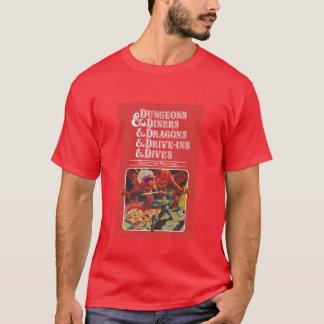 Camiseta Dungeon & comensais & dragões & Movimentação-Ins &