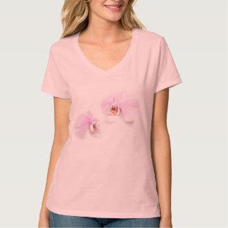 Camiseta Duo da flor do bordo de Hilo do Phalaenopsis