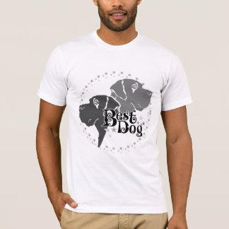 """Camiseta Duplamente imprimido """"Best Dog """""""