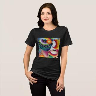 """Camiseta Dwainizms do """"doces olho"""" relaxou o t-shirt apto"""